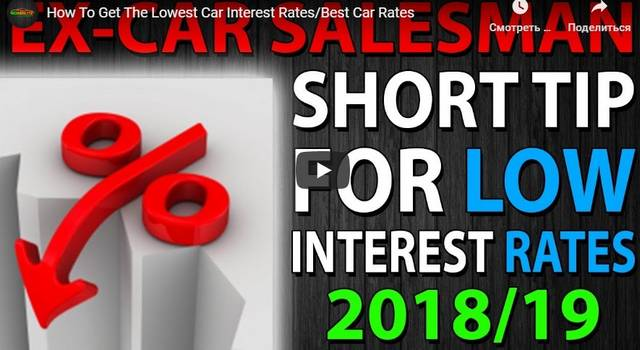 Lowest Auto Loan Rate
